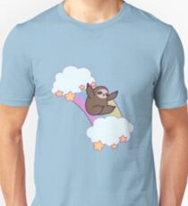Rainbow Cloud Sloth T-Shirt