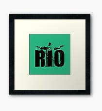 Rio City Framed Print