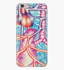 Vinilo o funda para iPhone Heart and Lungs in Pen
