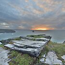 Cornwall: Trebarwith Sunset by Rob Parsons