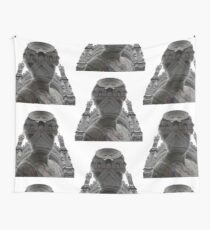 Architecture Portrait Wall Tapestry