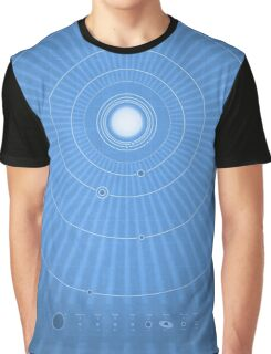 Solar System Cool - portrait Graphic T-Shirt