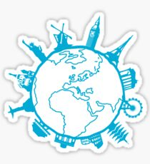 Cities of the World Sticker