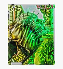 Spiked Green in HDR iPad Case/Skin