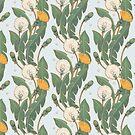 dandelion day pattern by Maria Khersonets