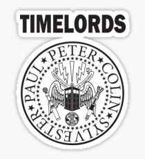 Time Lords 2 Sticker
