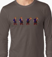 Monkey Island Spit Contest Long Sleeve T-Shirt