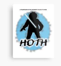 Hoth Metal Print