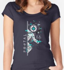 Portal Love Women's Fitted Scoop T-Shirt