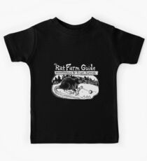 Rat Farm Guide: Support Our Efforts & Fund the Farm  Kids Tee