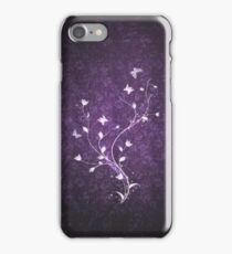 Floral vintage [violet] iPhone Case/Skin