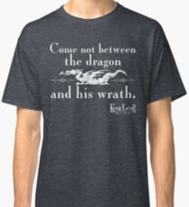 Dragon Wrath - White Classic T-Shirt