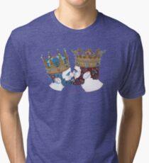 zwei Königreiche  Tri-blend T-Shirt