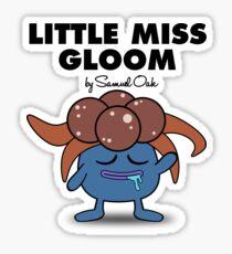 Little Miss Gloom Sticker