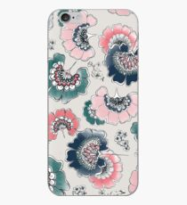 japanese watercoleor flowers iPhone Case