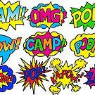 Pop-Art-Lager von Corey Paige Designs