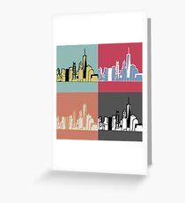 Warhol New York Greeting Card