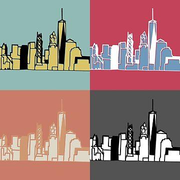 Warhol New York by falcon56