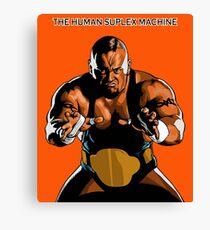 Taz ECW Canvas Print