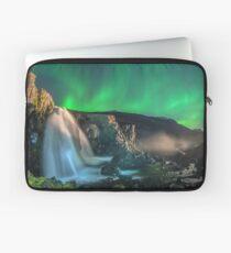 Aurora Falls, Eastern Iceland Laptop Sleeve