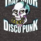 Trap Door Disco Punk Skull Brass Knuckles by BionicWiggly