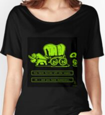 0046 - Off the Wagon Women's Relaxed Fit T-Shirt