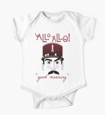 """Allo Allo, Officer Crabtree, """"good moaning"""" Kids Clothes"""