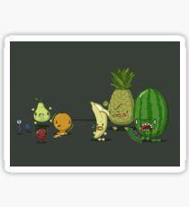 Zombie Fruits Sticker