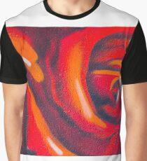 Graffiti Rose Graphic T-Shirt