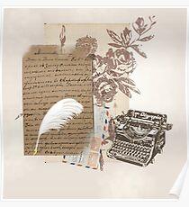 A Writer's World Poster