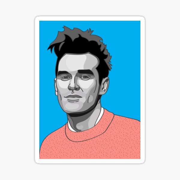 The Smiths vinyl sticker decal Morrissey MOZ Johnny Marr alternative rock music