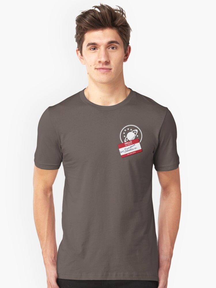 Crewman #6 - NSEA Protector Unisex T-Shirt Front