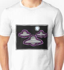 Three Sky Watchers COLORIZED T-Shirt
