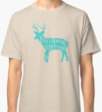 The Teal Deer Classic T-Shirt