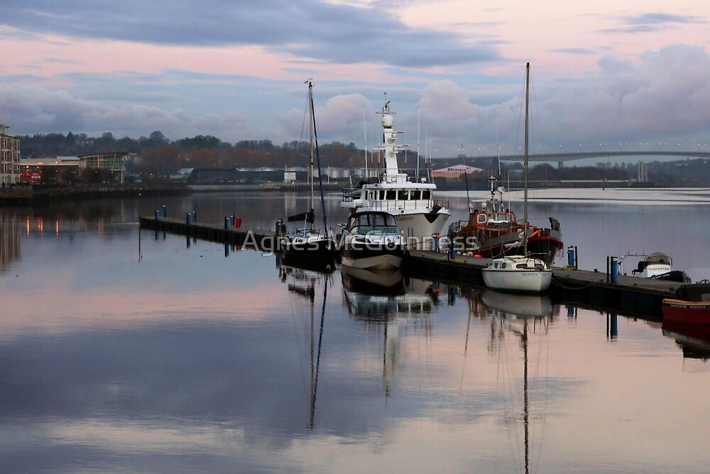 Winter mooring by Agnes McGuinness