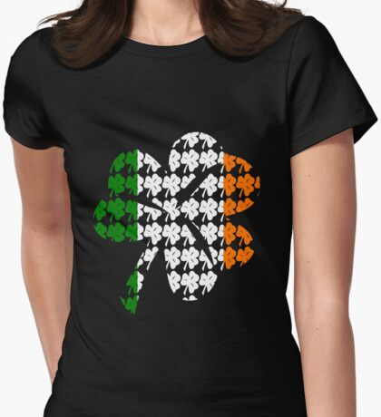 Shamrock Irish Flag T-Shirt