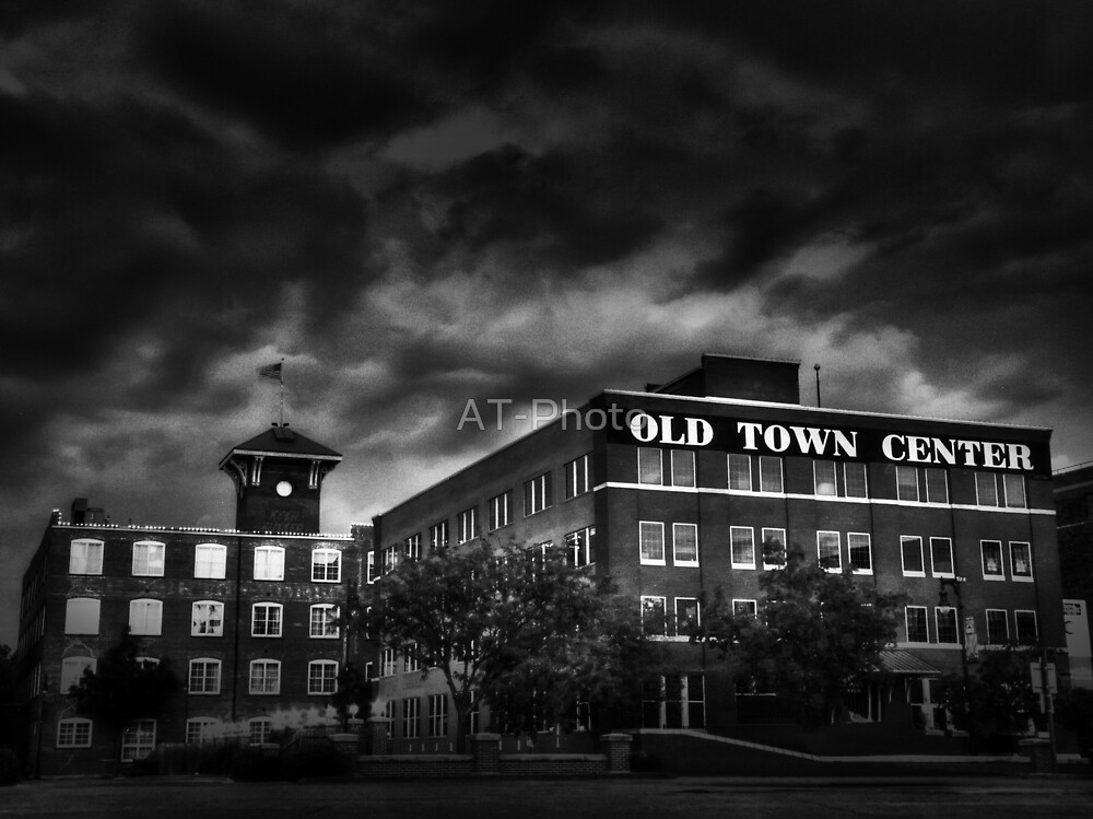 Old Town in Wichita, KS by AT-Photo