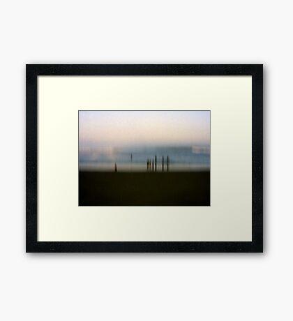 Edge of Reality #2 Framed Print