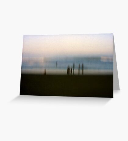 Edge of Reality #2 Greeting Card