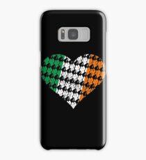 Irish Flag Heart Samsung Galaxy Case/Skin