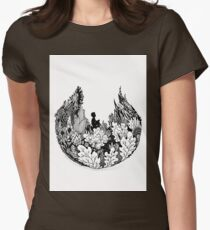 Commune With Nature Womens Fitted T-Shirt