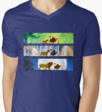 Lion King: Hakuna Matata Men's V-Neck T-Shirt
