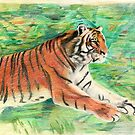 Tiger: Speed, Power, Beauty by Aakheperure