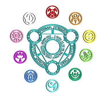 Phantasy Star Online Section IDs by BondofBlood