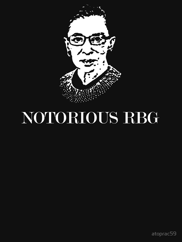 Notorious RBG by atoprac59