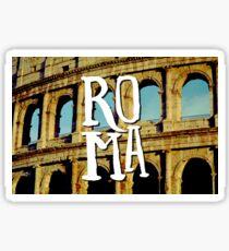 Roma Colosseum Italy Architecture Wanderlust Europe Sticker