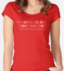 Ehlers Danlos Syndrome Awareness Women's Fitted Scoop T-Shirt