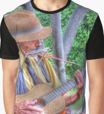 Traveling Troubadour Graphic T-Shirt