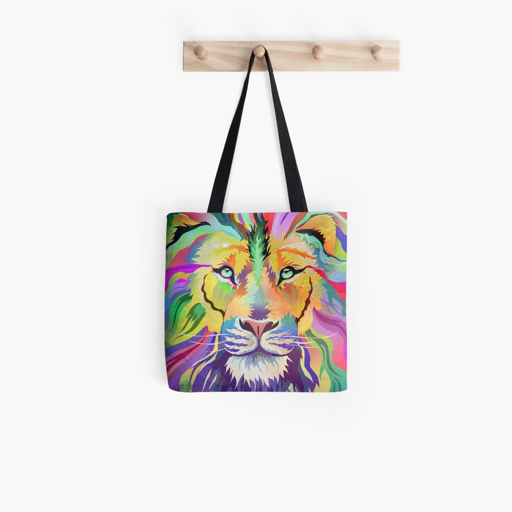 The King of Technicolor Tote Bag