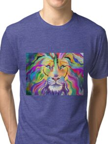 The King of Technicolor Tri-blend T-Shirt